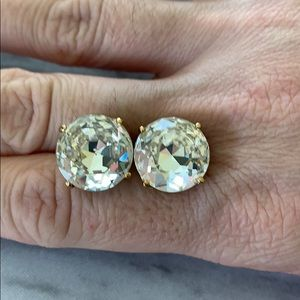 Gorgeous Large Kate Spade Crystal Studs